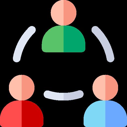 Icône collaboration