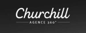 Logo agence churchill
